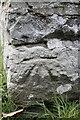 SO0643 : St Dubricius cutmark by Bill Nicholls