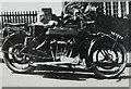 SP9807 : Royal Enfield motorbike by George Baker