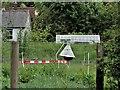 TQ7323 : Horse-fly trap in Darwell Stream meadows, Robertsbridge by Patrick Roper