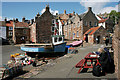 NO6107 : Painting Crail by Richard Sutcliffe