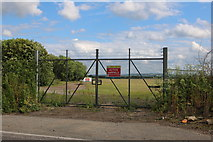 SP5925 : The new back entrance to RAF Bicester airfield by David Howard