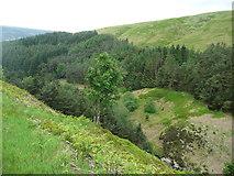 SE0901 : The valley of Heyfen Brook. Tintwistle by Humphrey Bolton