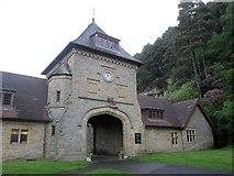 NU0702 : Entrance  to  the  Visitors  Centre.  Cragside by Martin Dawes