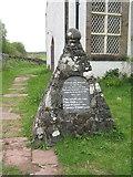 NM4339 : WWI memorial at Ulva by M J Richardson