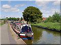 SJ3934 : Narrowboat at Ellesmere by David Dixon