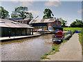 SJ4034 : Ellesmere Boatyard, Shropshire Union (Llangollen Canal) by David Dixon