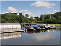 SJ4034 : Blackwater Meadow Marina, Ellesmere by David Dixon