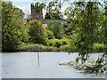 SJ4035 : View across The Mere by David Dixon