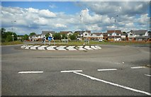 NS5159 : Roundabout on the B773 by Richard Sutcliffe