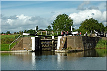 SP1976 : Knowle Bottom Lock south-east of Solihull by Roger  Kidd