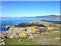 SH2987 : The coast at Trwyn Gwter-fudr, Anglesey by Jeff Buck