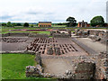 SJ5608 : Wroxeter Roman City, Site of the Bath House by David Dixon