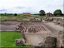 SJ5608 : Wroxeter Roman City, Site of the Bath House by David Dixon