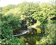 J3731 : Weir on the Shimna in Islands' Park by Eric Jones