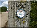 TF2419 : Waymark by a path by Bob Harvey
