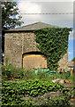 SX8755 : Barn, Lower Greenway Farm by Derek Harper