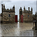 SK4770 : Bolsover Castle: the gate to the Little Castle by John Sutton
