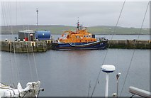 HU4741 : The lifeboat Michael and Jane Vernon by Russel Wills
