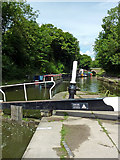 SP1876 : Grand Union Canal at Knowle Top Lock near Solihull by Roger  Kidd