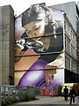 NS5865 : Mural, Mitchell Street by Richard Sutcliffe