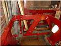SE2918 : St Peter & St Leonard, Horbury - bell frame by Stephen Craven