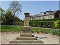 SE2918 : War memorial, Horbury Memorial Park by Stephen Craven
