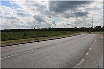 SP7017 : The A41, Westcott by David Howard