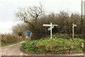 SX8355 : Longland Cross by Derek Harper