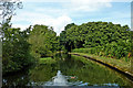 SP1879 : Grand Union Canal east of Solihull by Roger  Kidd