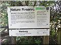 SU7288 : Information Board at Warburg Nature Reserve (2) by David Hillas