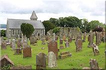 NX4355 : Wigtown Parish Churchyard by Billy McCrorie