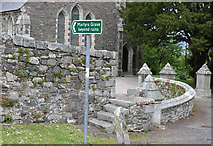 NX4355 : Steps to Martyrs Grave, Wigtown by Billy McCrorie