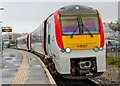 SM9006 : Transport for Wales DMU at Milford Haven by Adam Forsyth