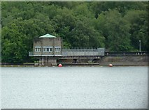 SJ9958 : Reservoir control station by Anthony O'Neil