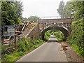 TQ3715 : Railway Bridge 669 over Novington Lane by PAUL FARMER