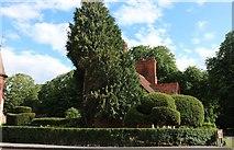 SP7416 : The Five Arrows Hotel garden, Waddesdon by David Howard