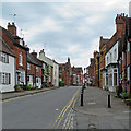 SP2872 : Kenilworth: up High Street by John Sutton