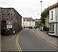 ST3390 : Brown signs, High Street, Caerleon by Jaggery