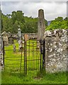 NH4555 : Kissing gate into Contin Churchyard by valenta