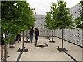 TQ3083 : Aga Khan Centre roof, Garden of Light by David Hawgood
