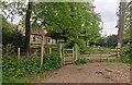 TQ5414 : Wealdway junction at Chiddingly Church by PAUL FARMER