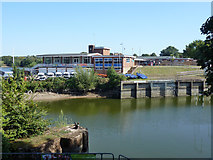 TQ1672 : Thames Young Mariners Base, Ham Lake by Robin Webster