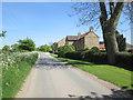 SE8227 : Lodge  Farm  on  Bellasize  Lane by Martin Dawes