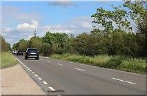 SP6419 : The A41 near Piddington by David Howard