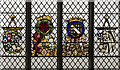 TG2208 : Stained glass window, St Peter Mancroft church, Norwich by Julian P Guffogg