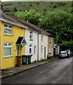 SO1403 : Yellow house, George Street, New Tredegar by Jaggery