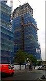 TQ1885 : Two blocks of flat construction on Park Lane by David Anstiss