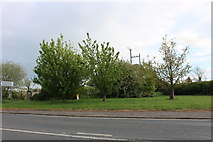 SP4476 : Green by Coventry Road, Church Lawford by David Howard