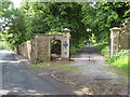 SO6712 : Private entrance to Dean Hall from Pleasant Stile by John S Turner