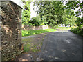 SO6712 : Pleasant Stile towards Dean Hill, and a bench mark by John S Turner